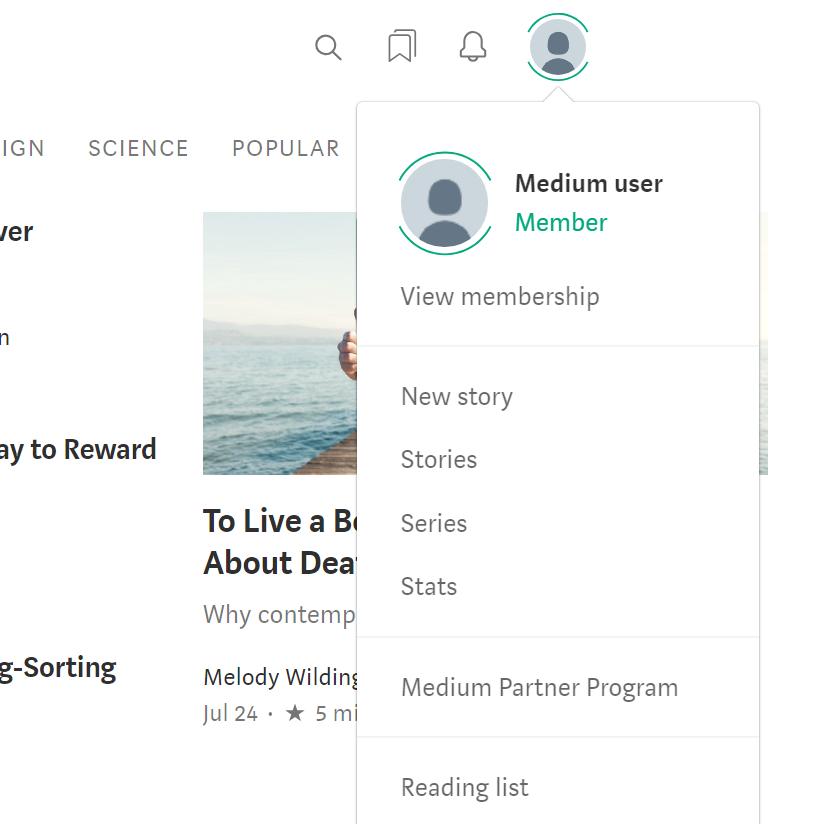 Bookmark – Medium Help Center