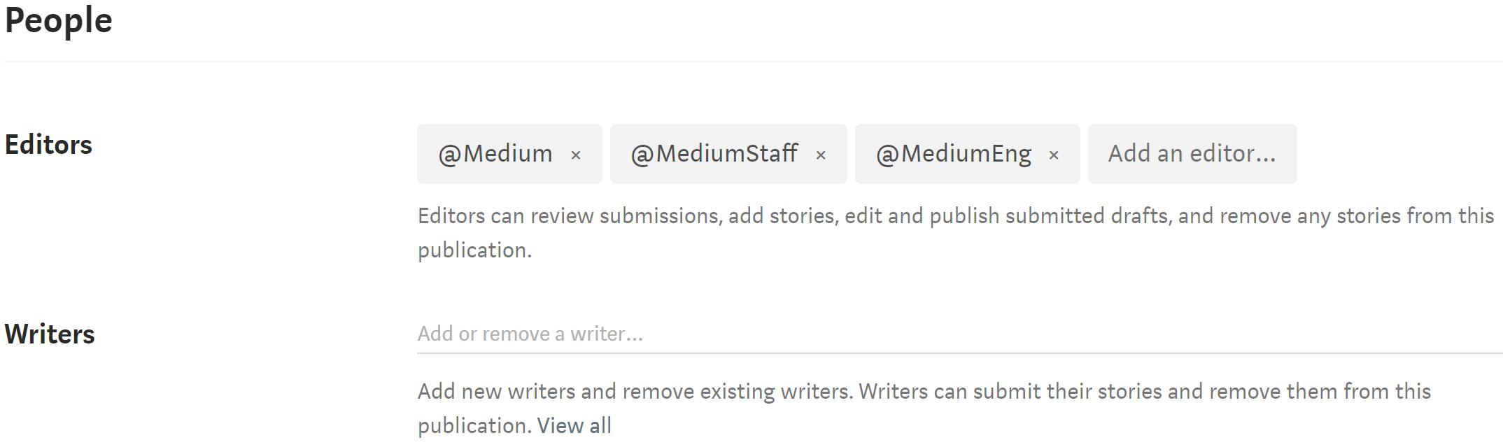 Edit a publication – Medium Help Center